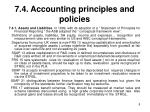 7 4 accounting principles and policies