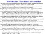 more paper topic ideas to consider11