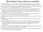 more paper topic ideas to consider12