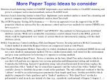 more paper topic ideas to consider14