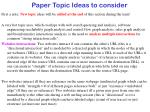 paper topic ideas to consider2