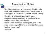 association rules12