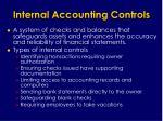 internal accounting controls