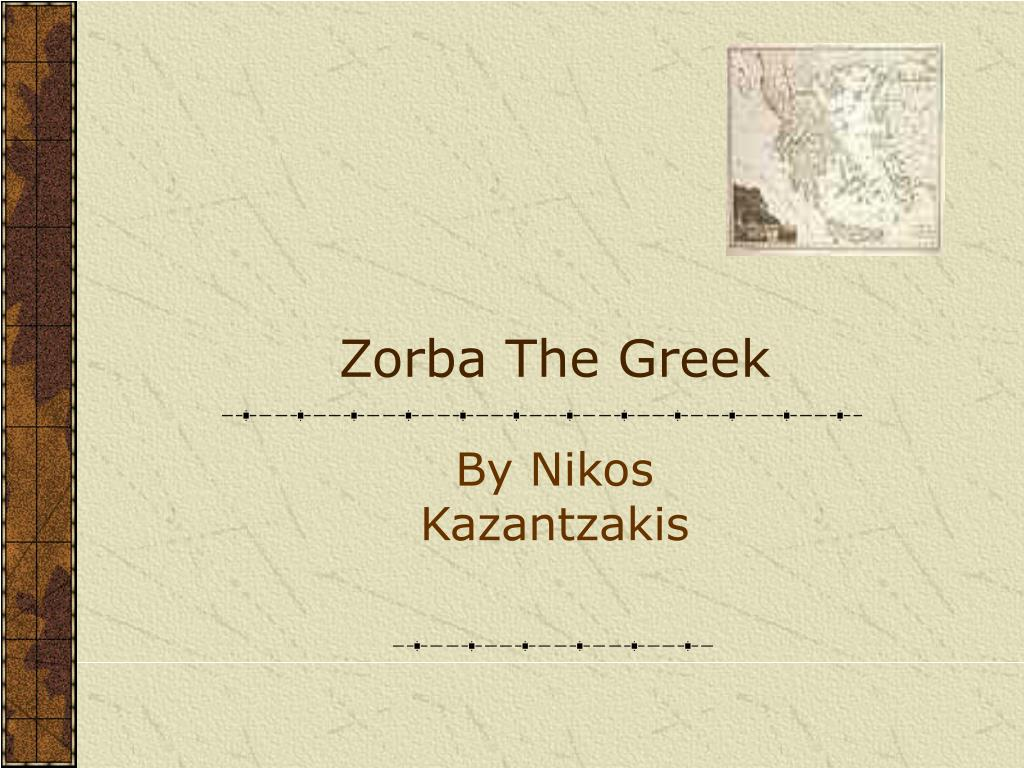 zorba the greek l.