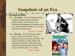 snapshots of an era5