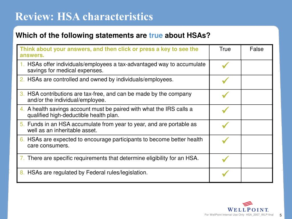 Review: HSA characteristics