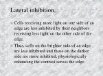lateral inhibition1