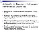 aplicaci n de t cnicas estrategias herramientas did cticas29