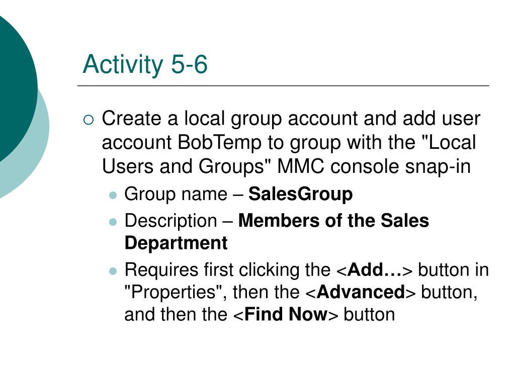 Activity 5-6