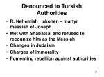 denounced to turkish authorities