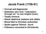 jacob frank 1726 91