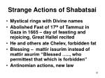 strange actions of shabatsai