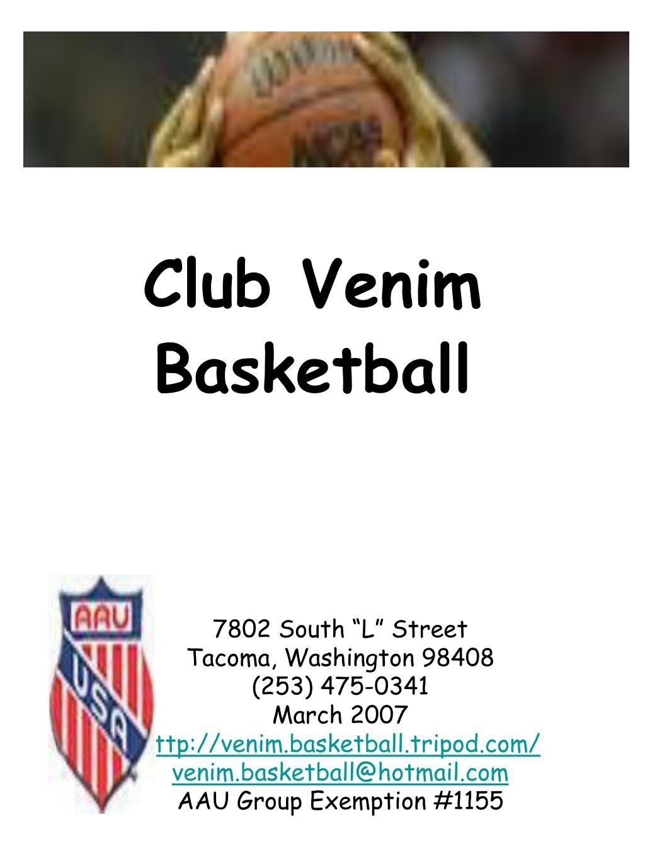 club venim basketball l.