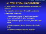 4 1 estructural o coyuntural