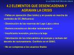 4 2 elementos que desencadenan y agravan la crisis