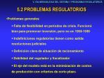5 2 problemas regulatorios