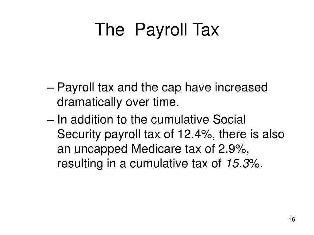The  Payroll Tax