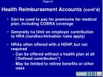 health reimbursement accounts cont d