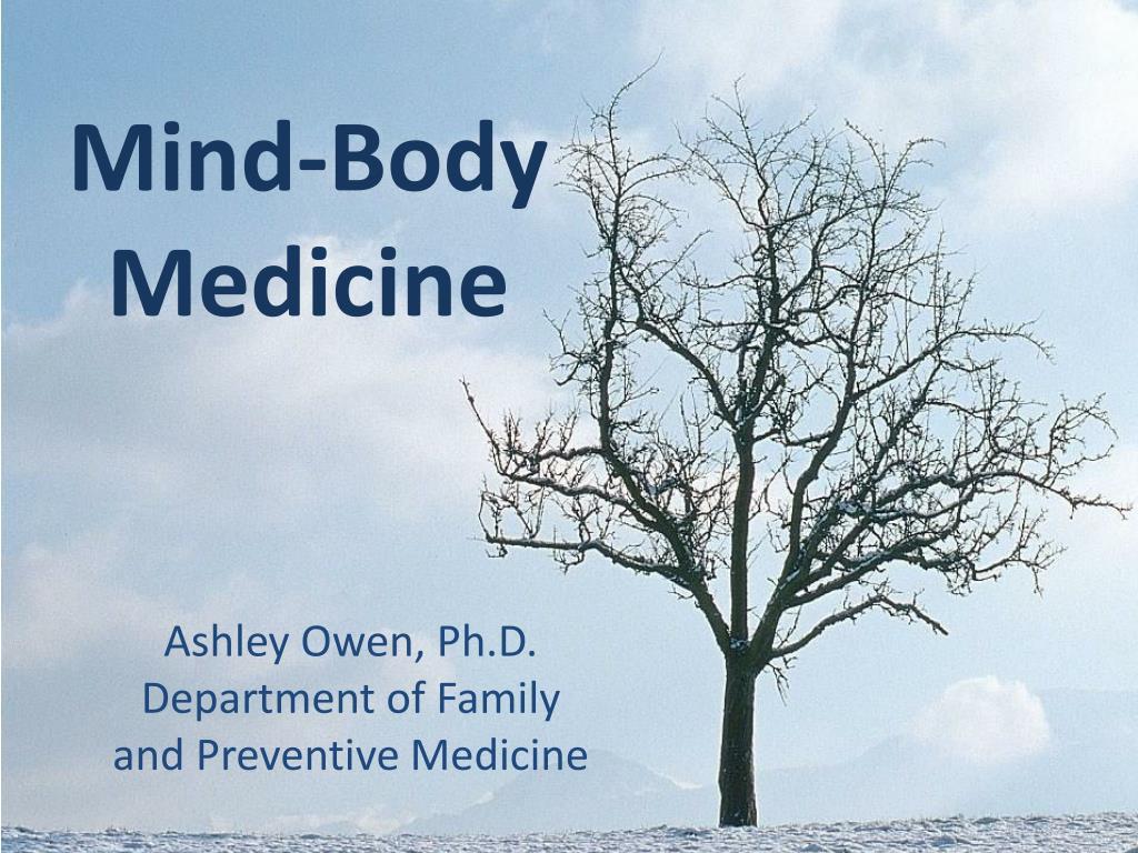 mind body medicine l.