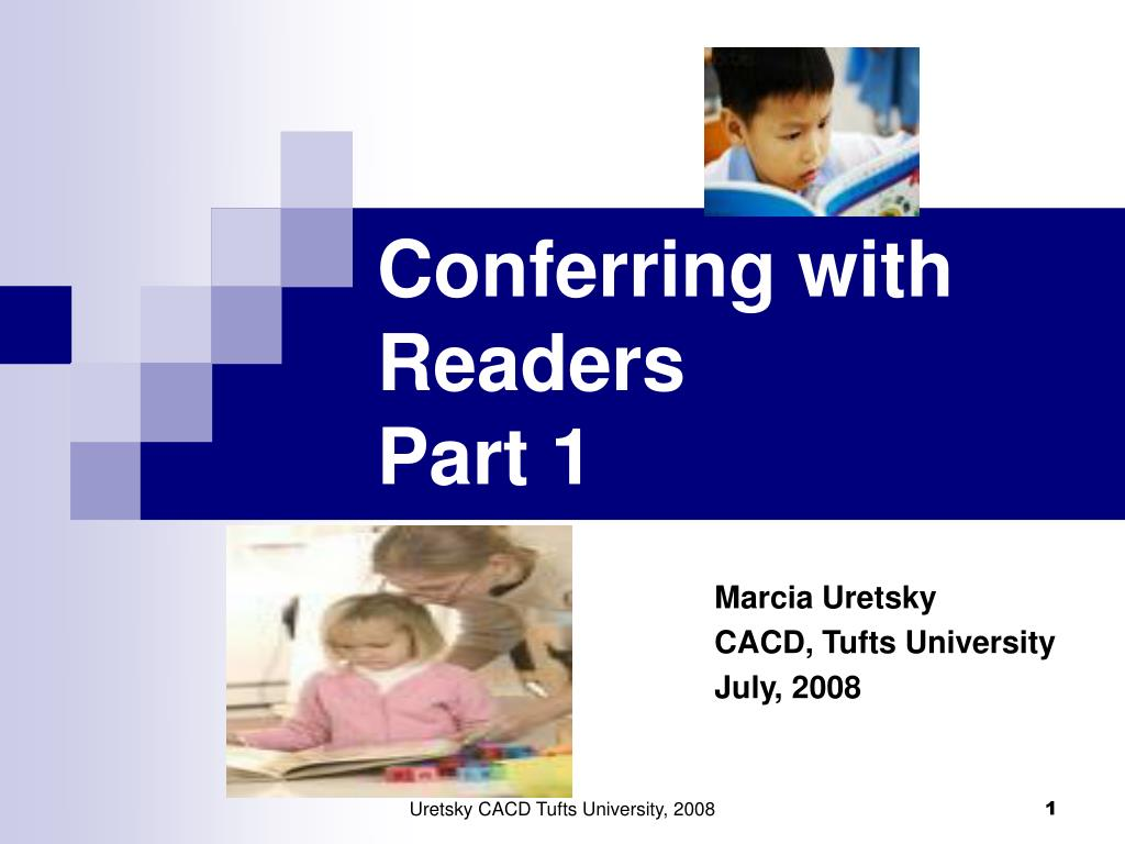 conferring with readers part 1 l.
