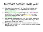 merchant account cycle part 2