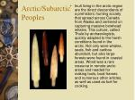 arctic subarctic peoples