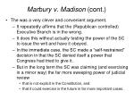 marbury v madison cont17