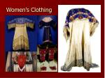 women s clothing