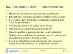 real time quality control batch monitoring8