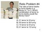 ratio problem 4