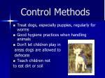 control methods