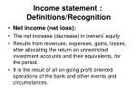 income statement definitions recognition35