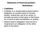 statement of financial position definitions23