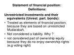 statement of financial position definitions24