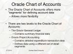 oracle chart of accounts