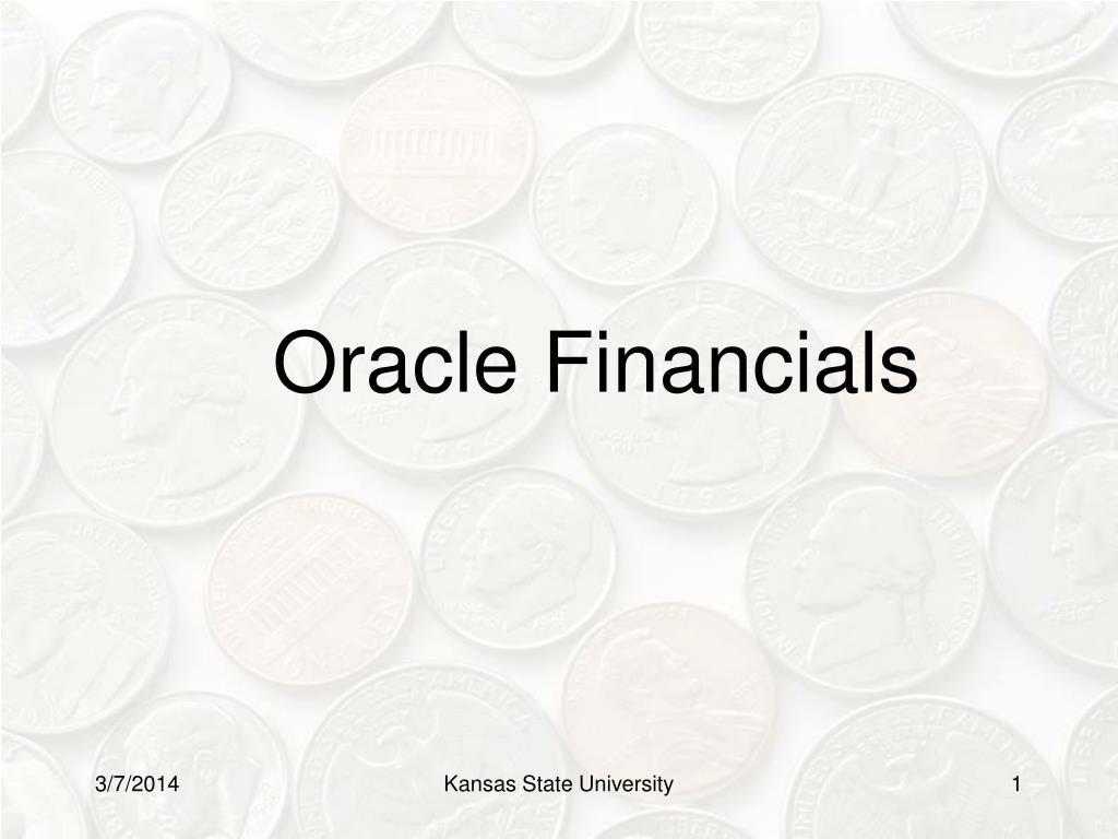 oracle financials l.