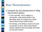 basic thermodynamics26