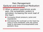 pain management epidural and intrathecal medication29