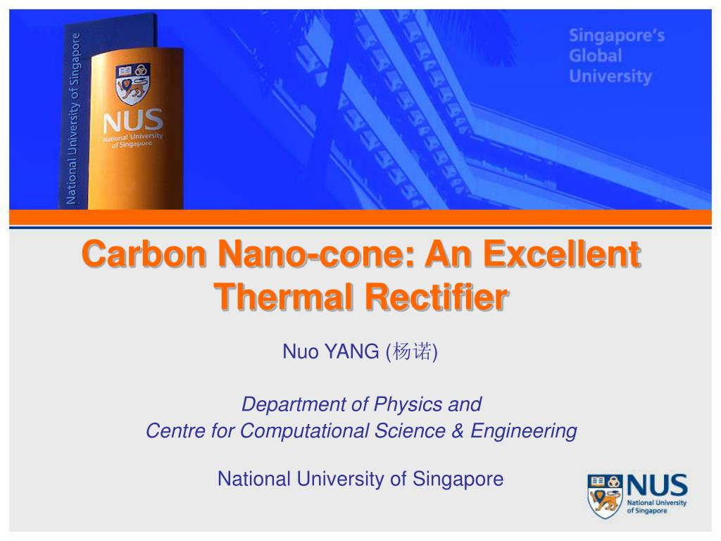 carbon nano cone an excellent thermal rectifier l.