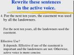 rewrite these sentences in the active voice43