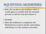 squinting modifiers62