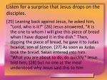 listen for a surprise that jesus drops on the disciples16