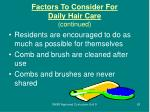 factors to consider for daily hair care continued63