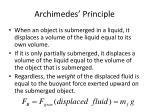 archimedes principle7