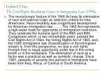 gabriel chin the civil rights revolution comes to immigration law 1996
