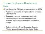 overseas employment development board