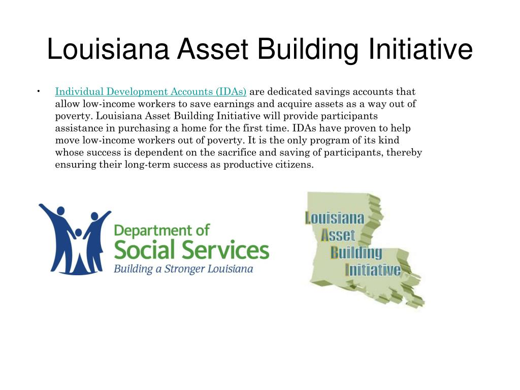 louisiana asset building initiative l.