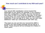 how much can i contribute to my hsa each year