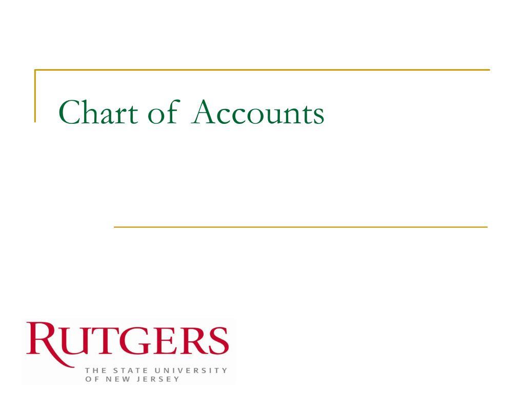 chart of accounts l.