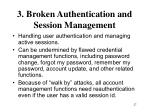 3 broken authentication and session management27